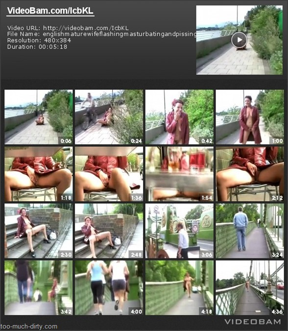 English_Mature_Wife_Flashing_Masturbating_and_Pissing_in_Public_1
