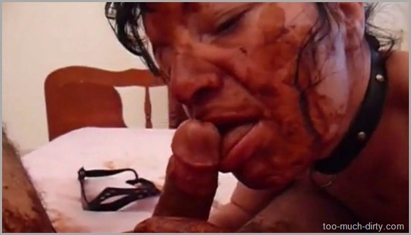 Slave_Sucking_a_Cock_Full_of_Shit