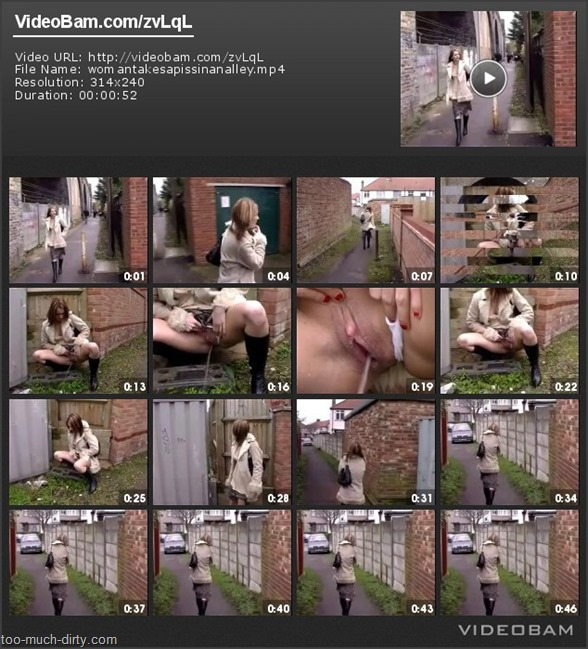 Woman_Takes_a_Piss_in_an_Alley_1