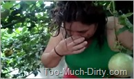 Chubby_Dirty_Drunk_Girl_Non_Stop_Puking_Outdoor_1