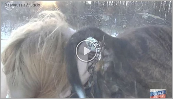 Dirty Perverted Milf licking Dog Asshole